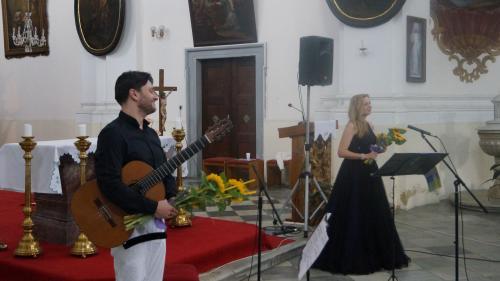 10. 6. 2018 - Martina Kociánová (mezzosoprán) a Ondřej Gillig (kytara)